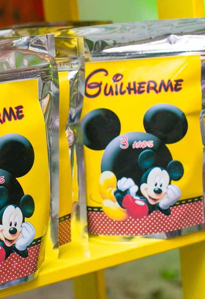 Lembrancinhas do Mickey: 60 ideias com fotos e passo a passo