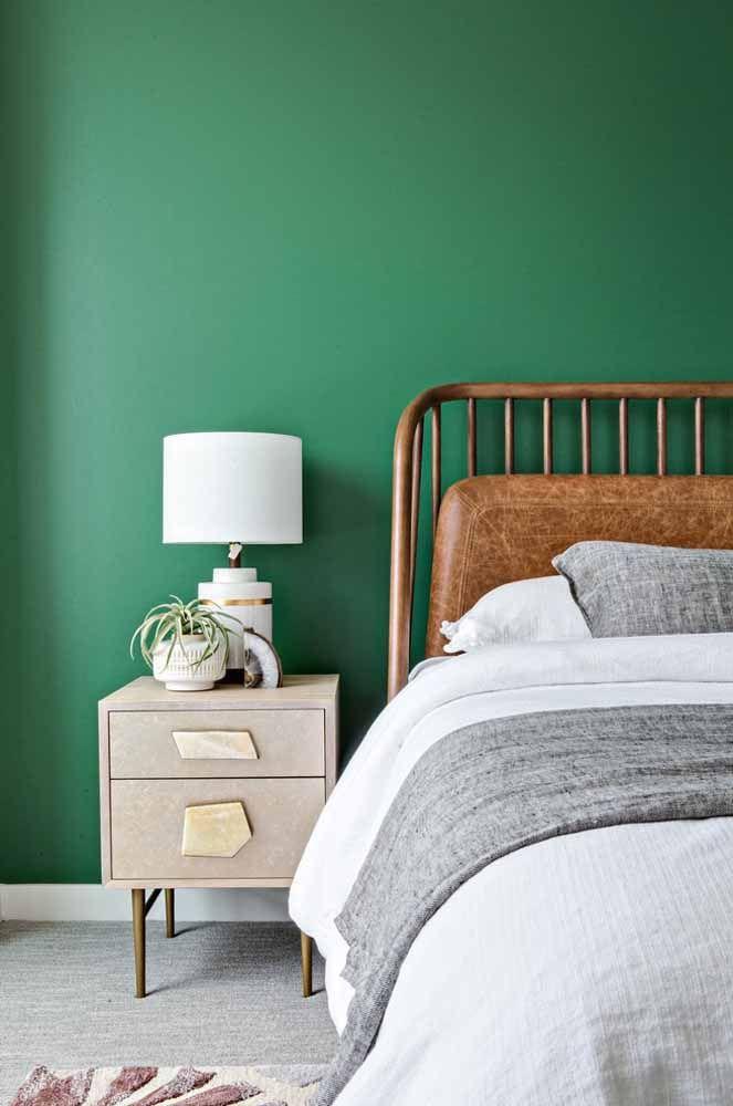 O verde acalma e equilibra; uma ótima opção para locais de descanso