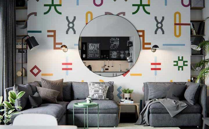 Parede colorida: 60 fotos de decoração e dicas essenciais