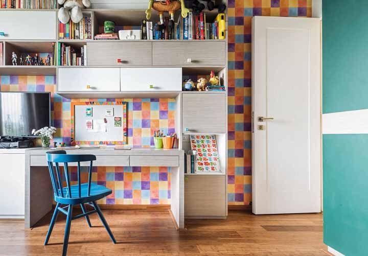 Quadradinhos coloridos: delicados e alegres
