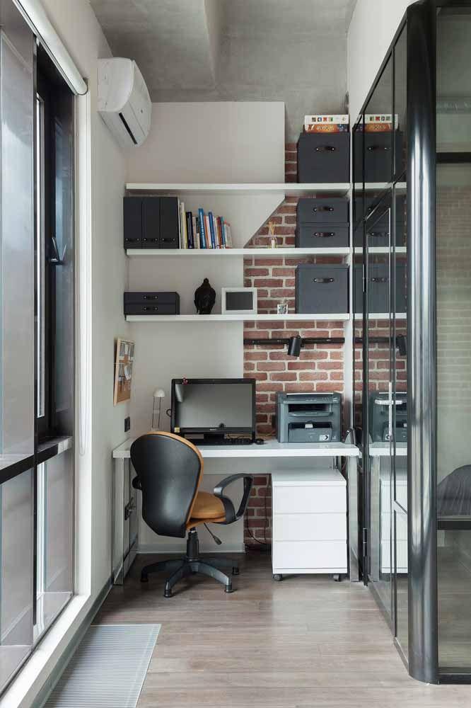 Escrivaninhas de MDF são as mais utilizadas nos projetos sob medida