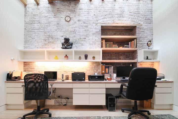 Escrivaninha branca: 60 fotos e dicas essenciais para escolher