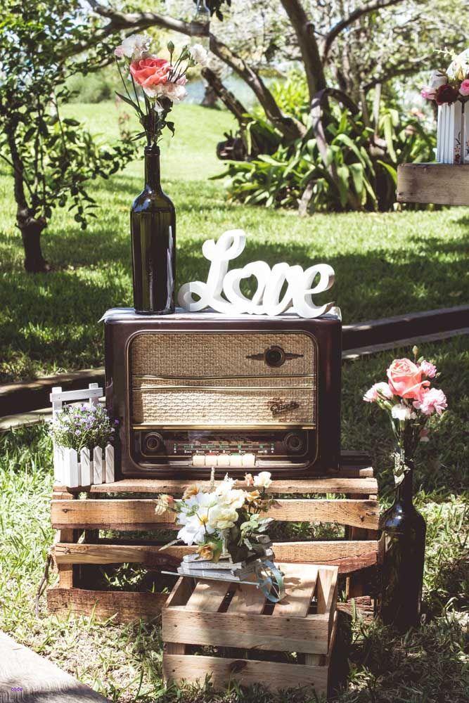 Ao ar livre, a festa de bodas fica ainda mais prazerosa