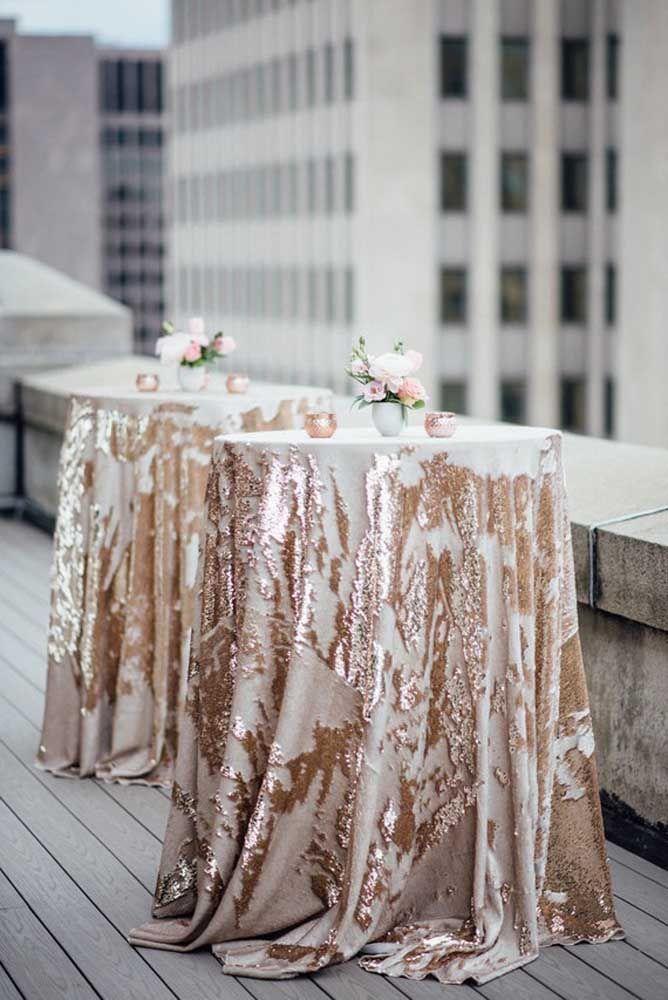 Mesas decoradas com charme e elegância