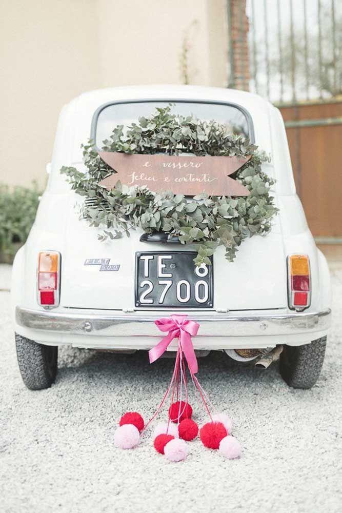 Vale decorar o carro como foi no dia do casamento