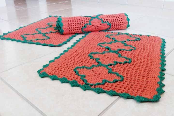 Já esse kit traz as cores símbolos do natal: vermelho e verde