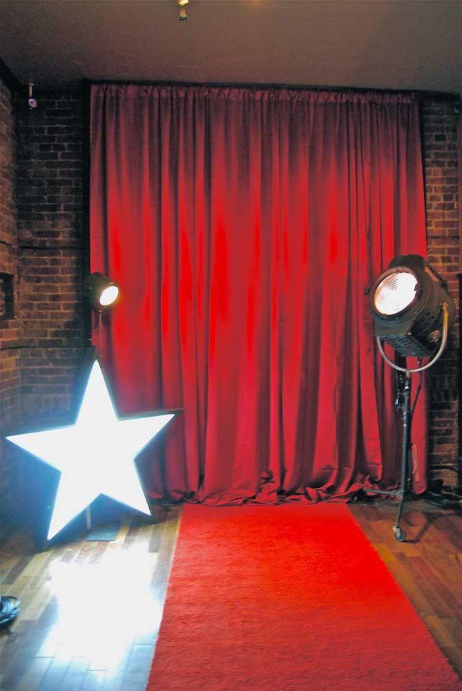 E no tapete vermelho...