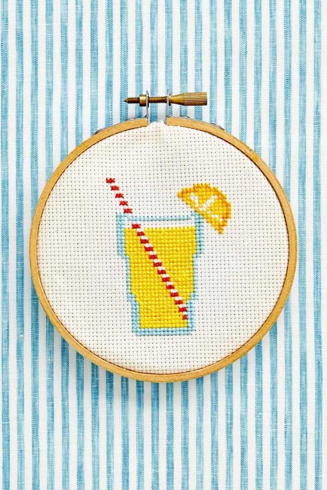 Uma limonada fresquinha para decorar a casa