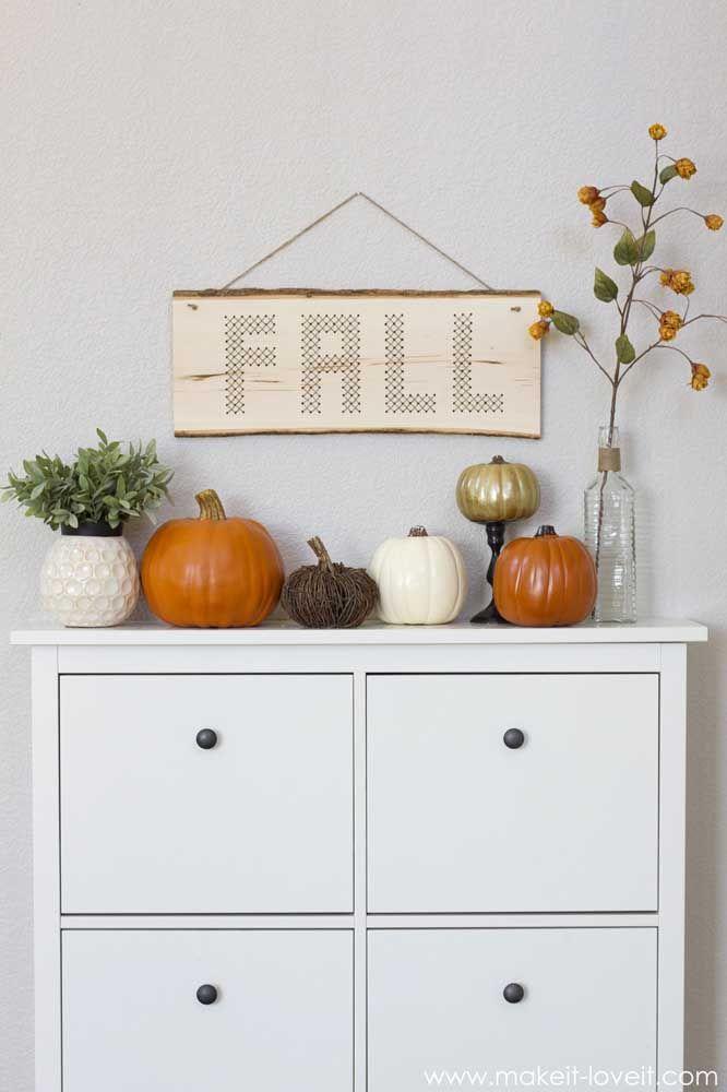 O outono também é tema nessa outra imagem