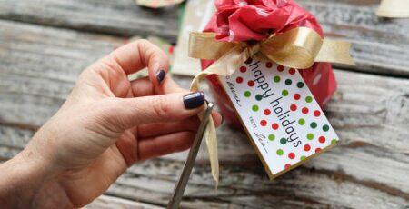 Como fazer laço de Natal