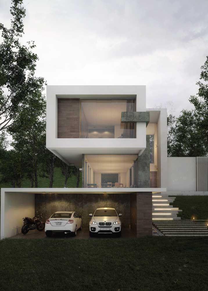 As fachadas de vidro são elegantes e modernas, mas podem comprometer a privacidade no interior da residência