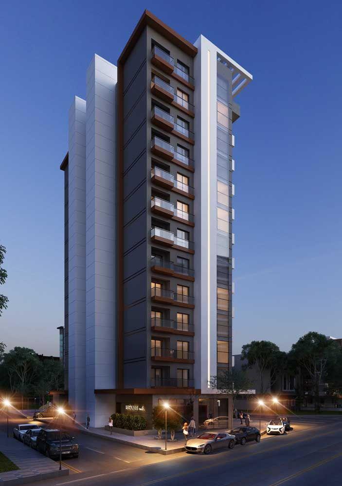 As fachadas de prédios não precisam ser todas iguais; é possível, com alguns detalhes, criar projetos bem originais