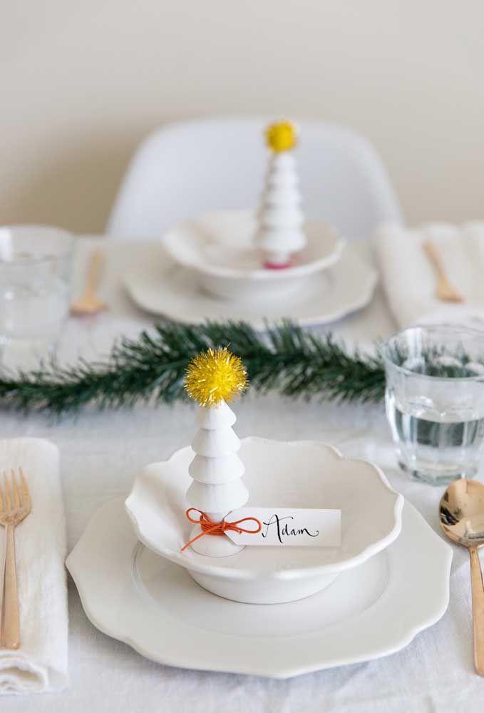 Um enfeite de natal para cada convidado