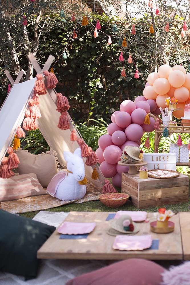 Uma festa Jardim Encantado para se aproveitar em cada mínimo detalhe