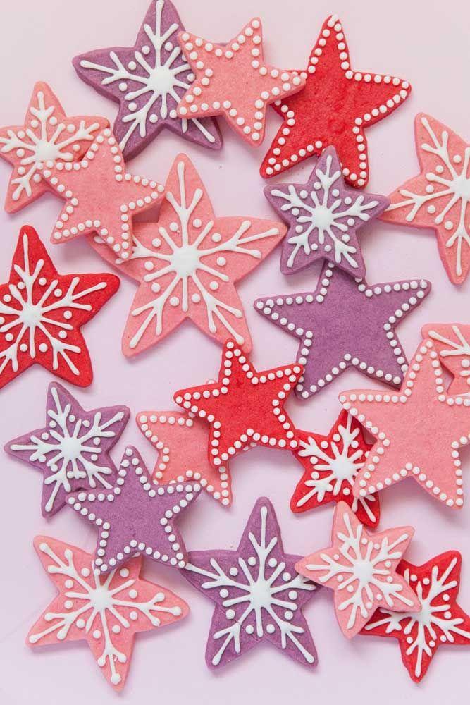 Neve e estrela de natal: olha o resultado dessa união