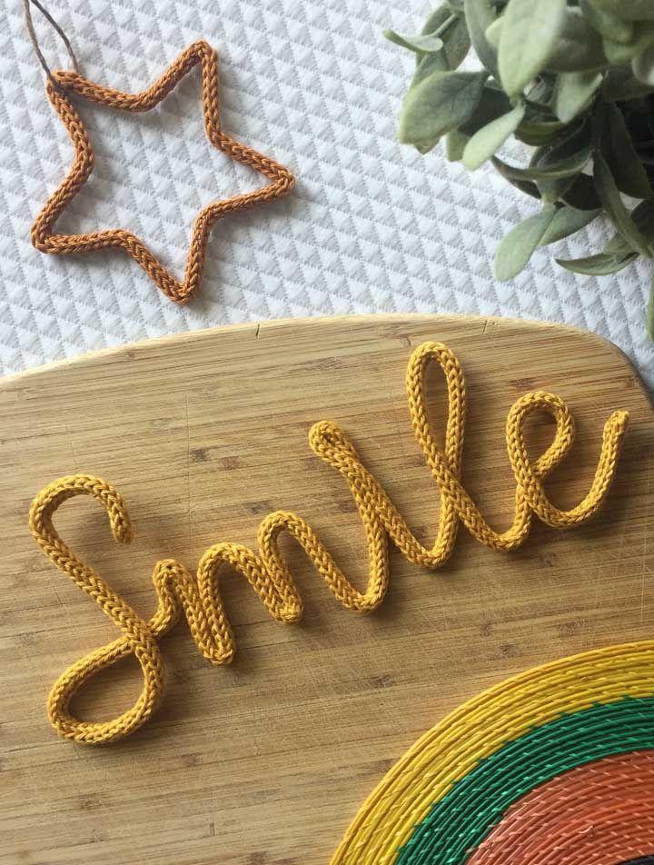 Sorria! Afinal deixar a casa mais bonita é fácil com o tricotin