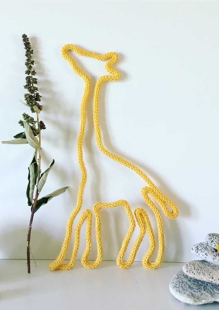 Não esqueça a alimentação da girafa