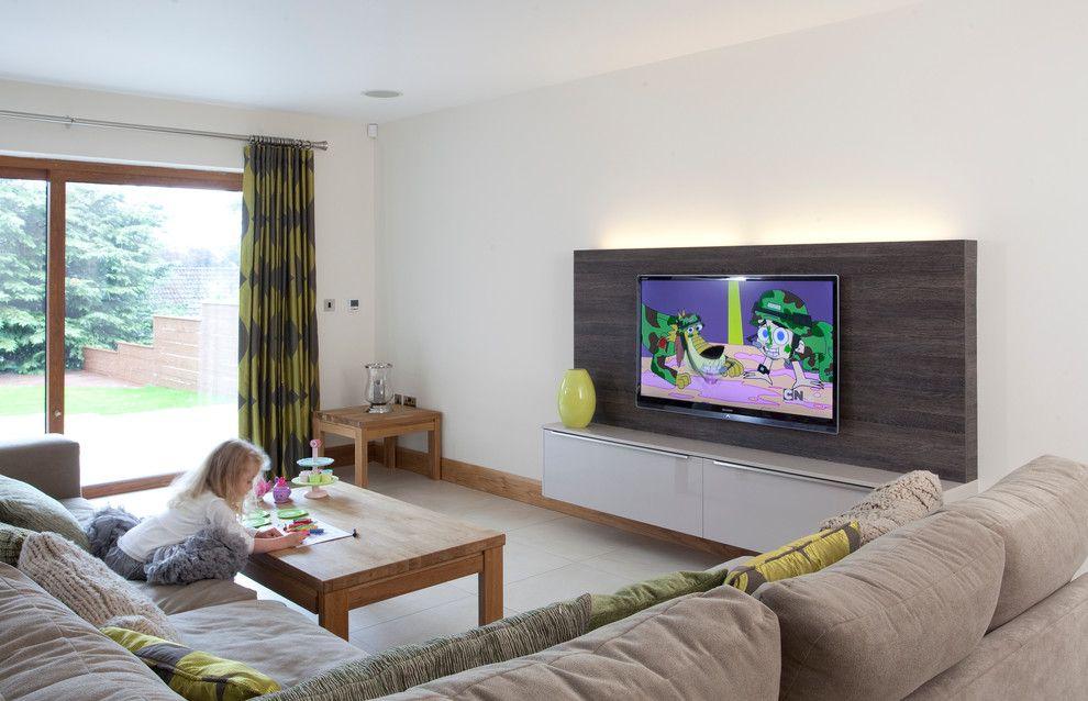 Altura de TV na sala