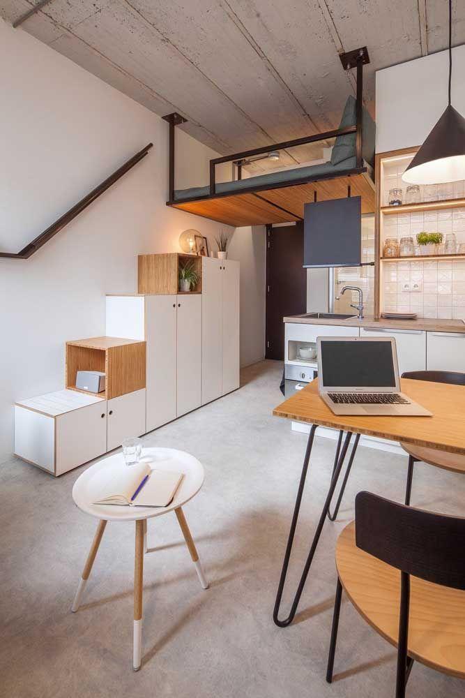 É escada, é nicho, é armário: decoração criativa e funcional é assim