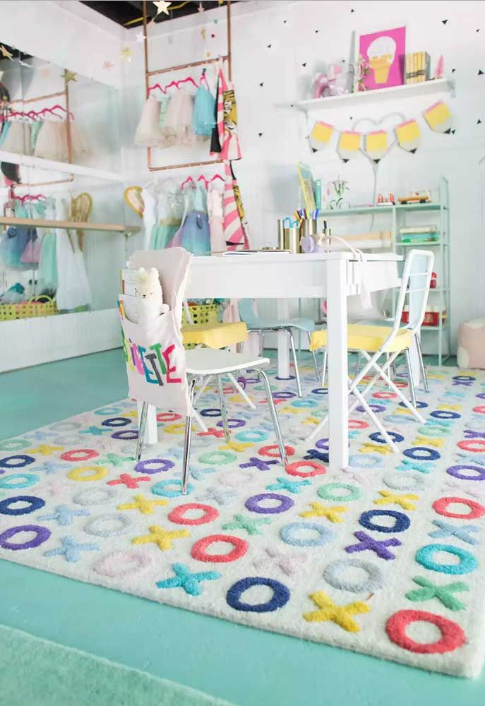 A decoração infantil permite ousar e abusar da criatividade