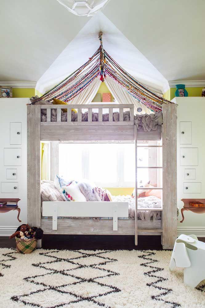 As princesinhas vão adorar a decoração criativa do quarto