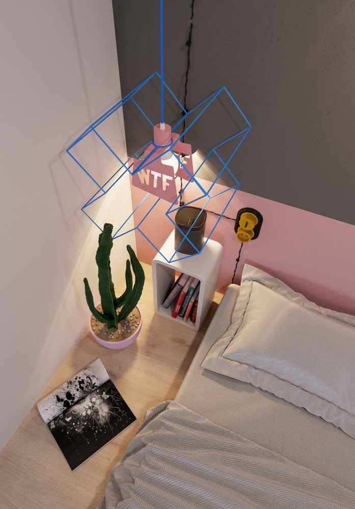 Luminária aramada: moderna, criativa e original