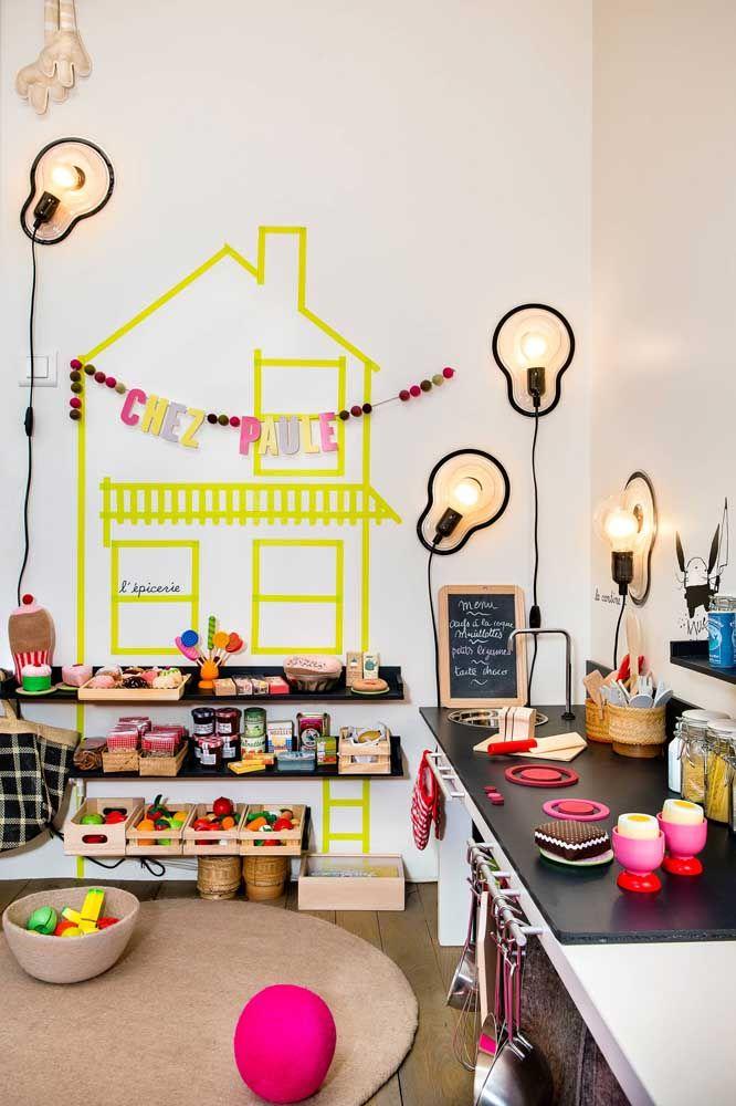 Quarto infantil é sempre um bom lugar para ter as melhores ideias de decoração