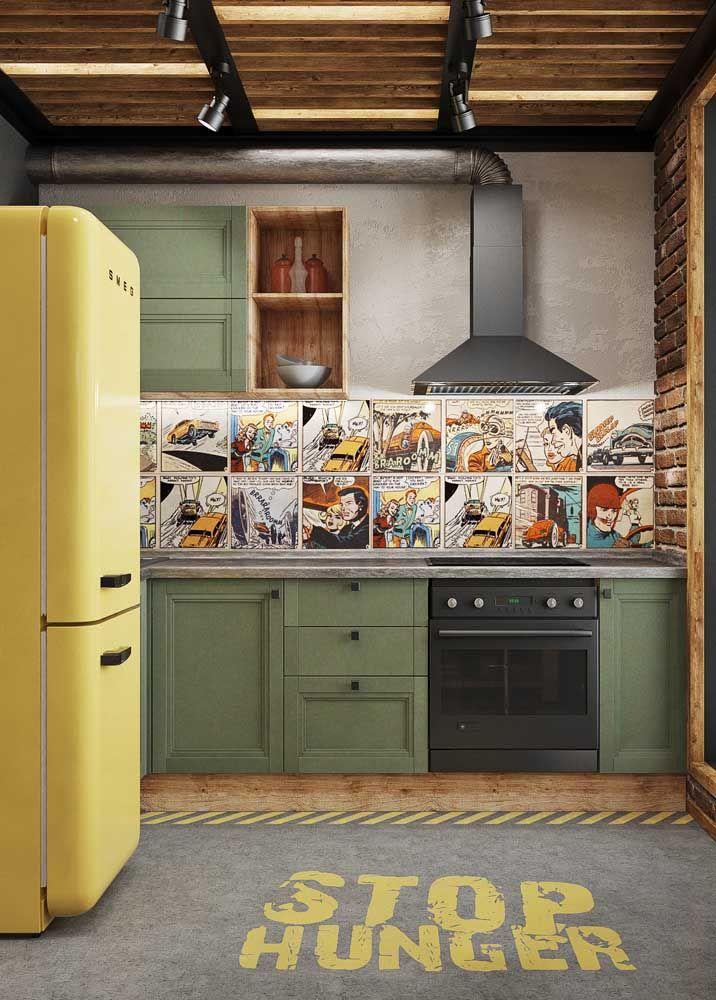 Fã de quadrinhos? Então coloque eles na parede! Use seus hobbies e preferências para montar a decoração criativa da sua casa