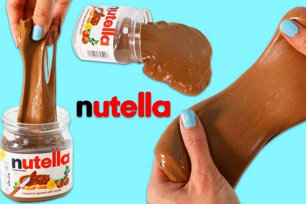 Slime de Nutella