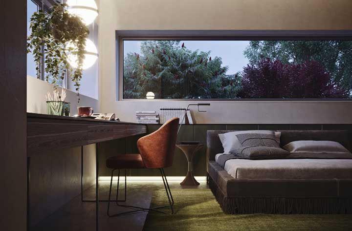 Integrando a paisagem com a decoração do quarto