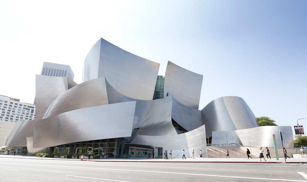 Arquitetura Contemporânea Wall Disney Concert Hall