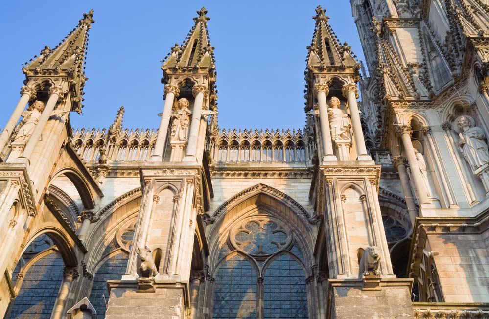 Arquitetura Medieval Catedral de Notredame