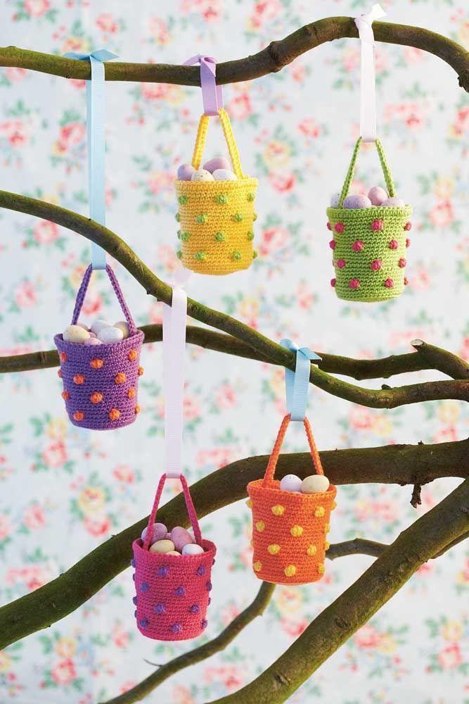 Pequeninos para decorar a casa durante a páscoa