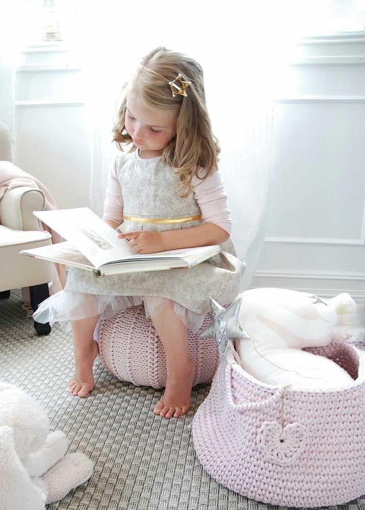 O crochê não é só bonito é também um artesanato aconchegante e acolhedor