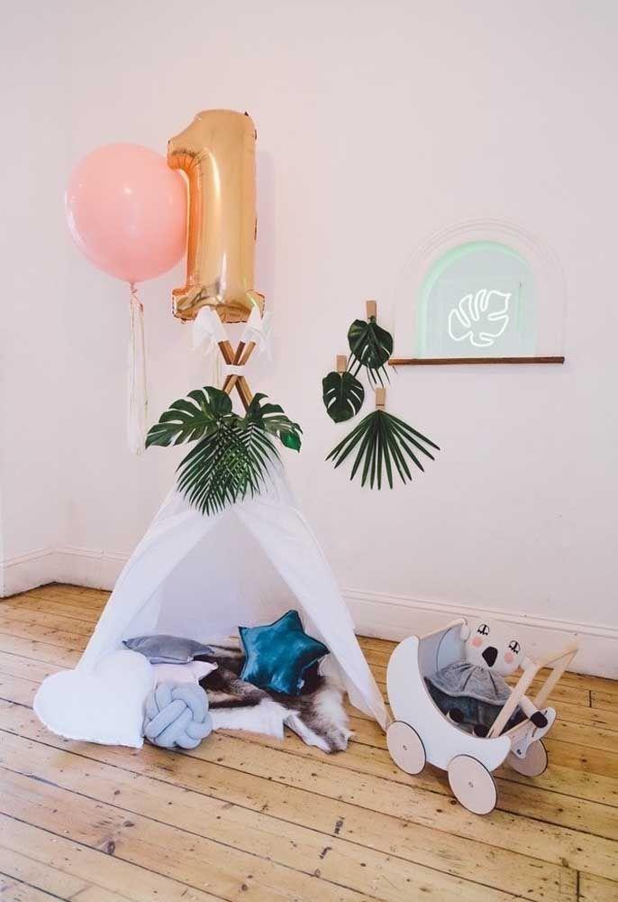 Um detalhe singelo e discreto para decorar o ambiente da casa