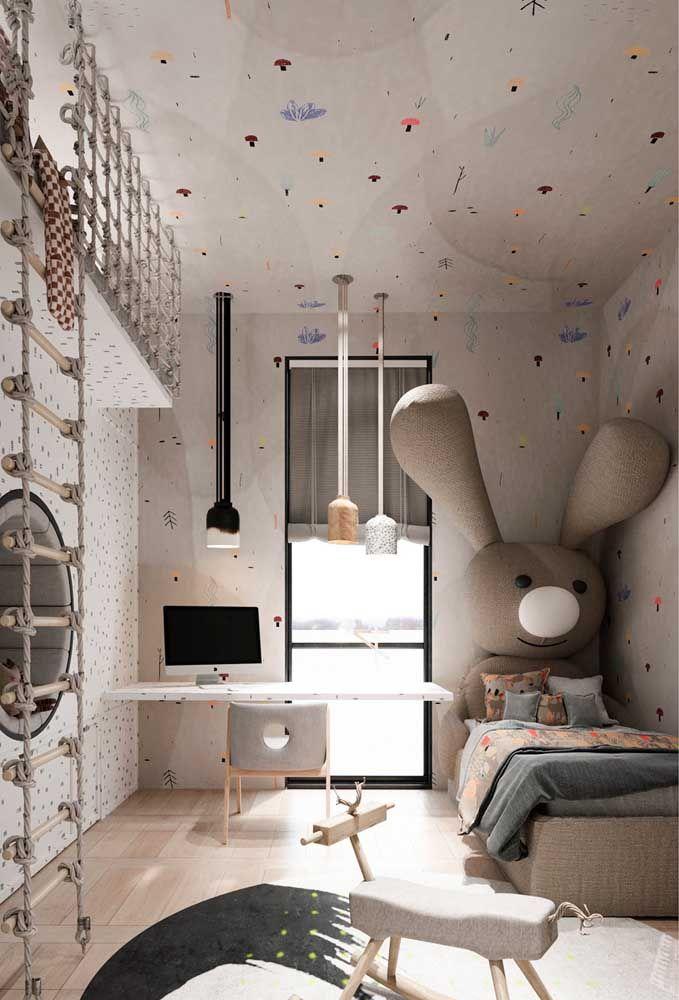 Para que parede e teto se destaquem o piso precisa ser claro e neutro