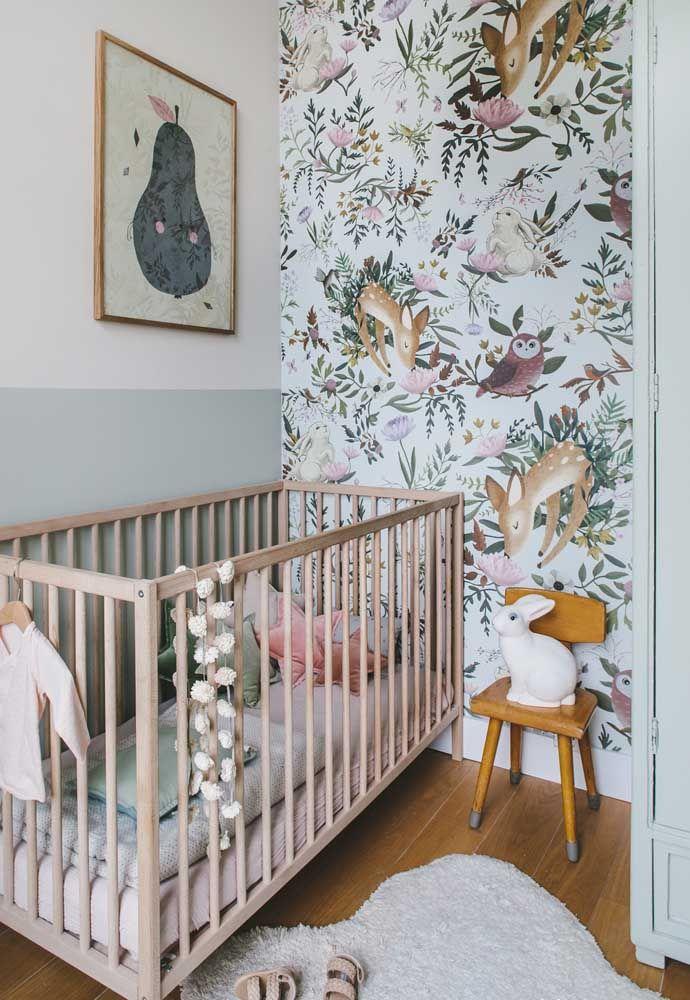 Um coelhinho simpático para vigiar o sono do bebê