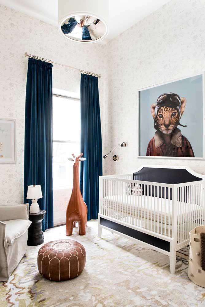 Uma decoração forte e marcante para o quartinho infantil
