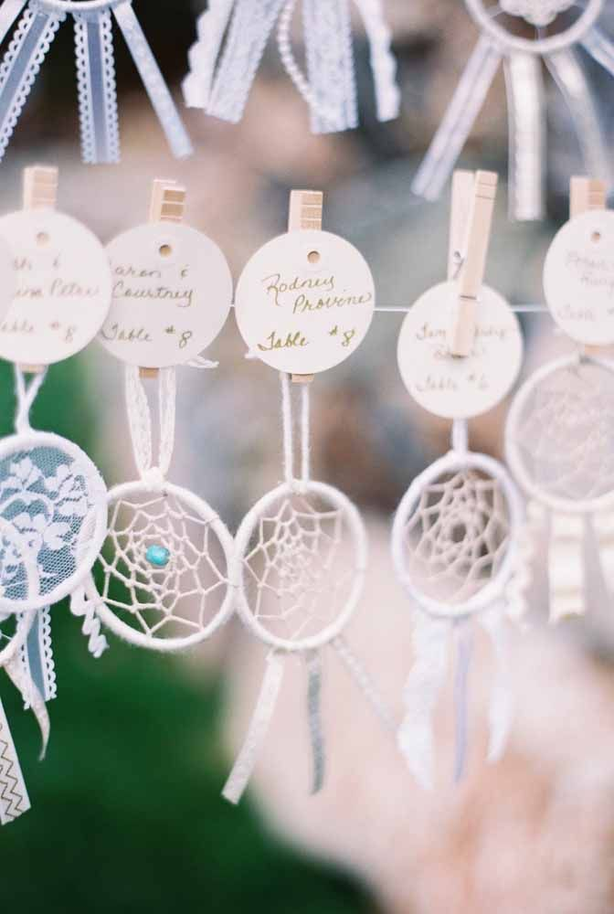 Mini filtros dos sonhos: é ou não é uma lembrancinha de casamento lindo e muito fácil de fazer?