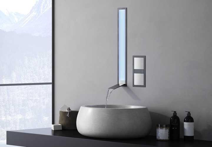 Quanto estilo e sofisticação cabem em apenas uma torneira?