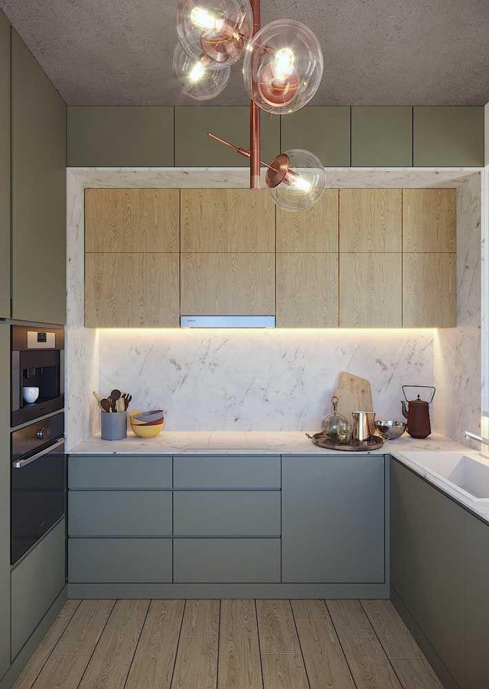 Cozinha planejada: você define quantas e quais cores entram no projeto
