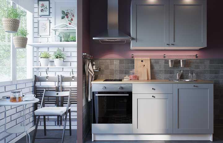 Pequena, retrô e romântica: quantos estilos cabem em uma mesma cozinha planejada?