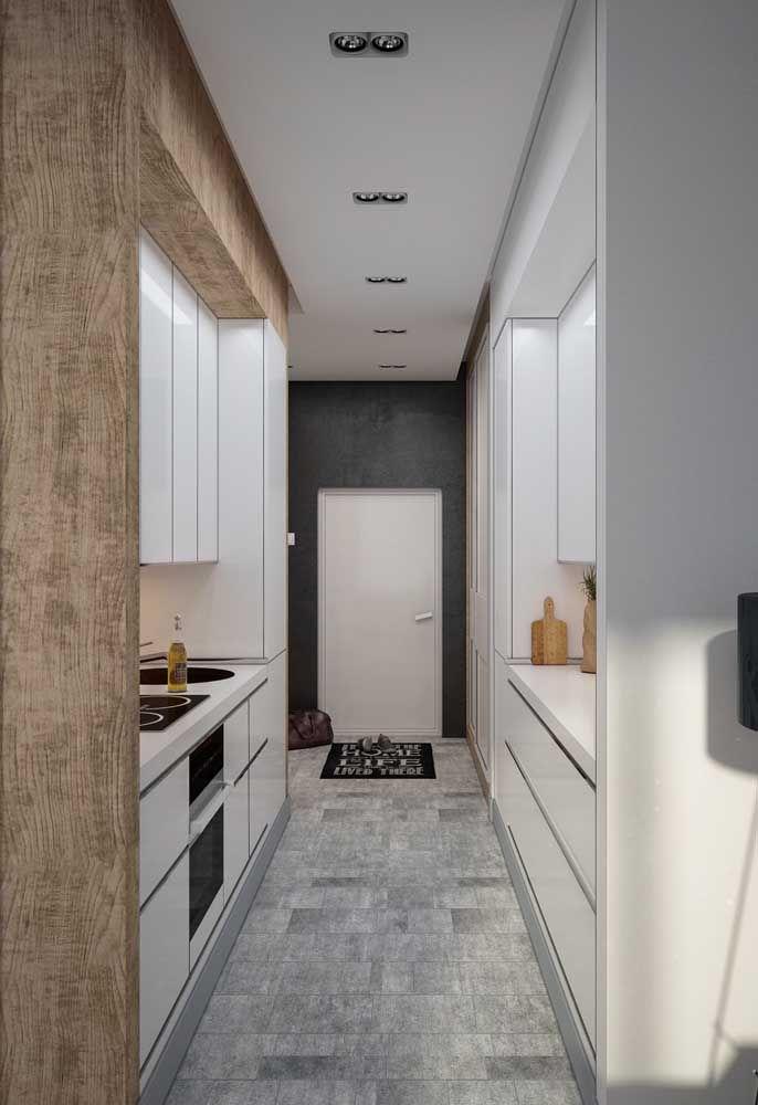Cozinha corredor planejadíssima