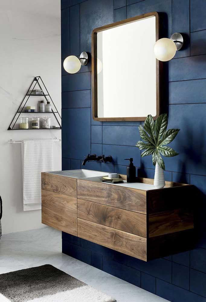 Arandelas de bolinha para o banheiro que mescla o moderno com o retrô