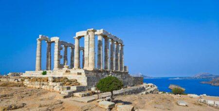 Arquitetura grega: templo de poseidon