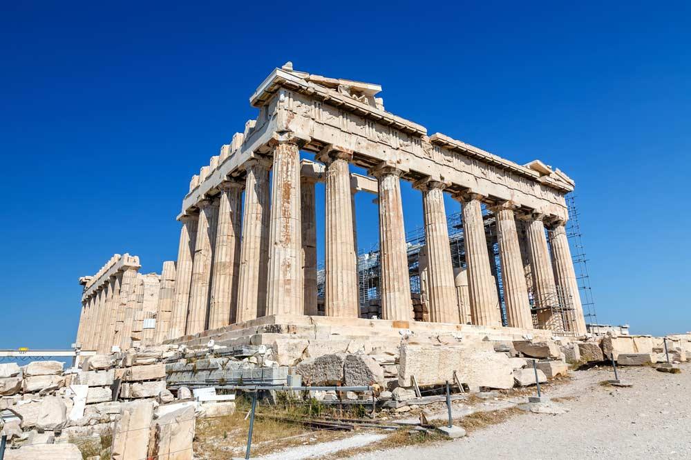 Templo Parthenon Grécia