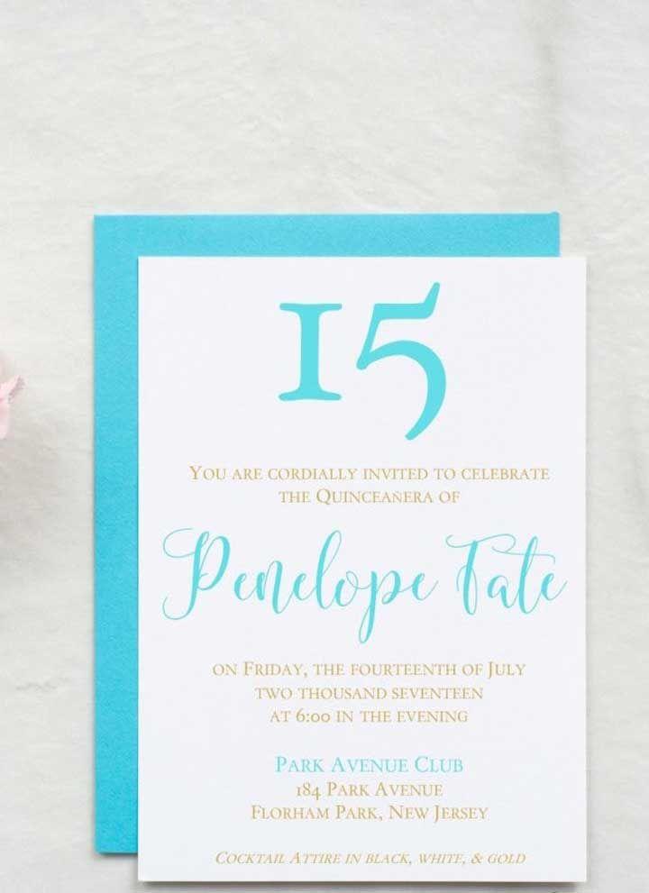 Escreva o convite usando a mesma cor do envelope