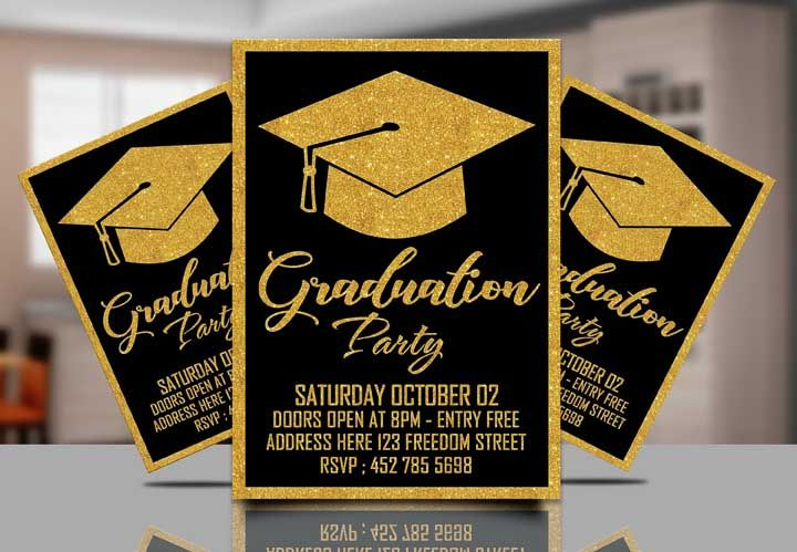 O convite pode ter uma versão impressa e outra digital para você distribuir
