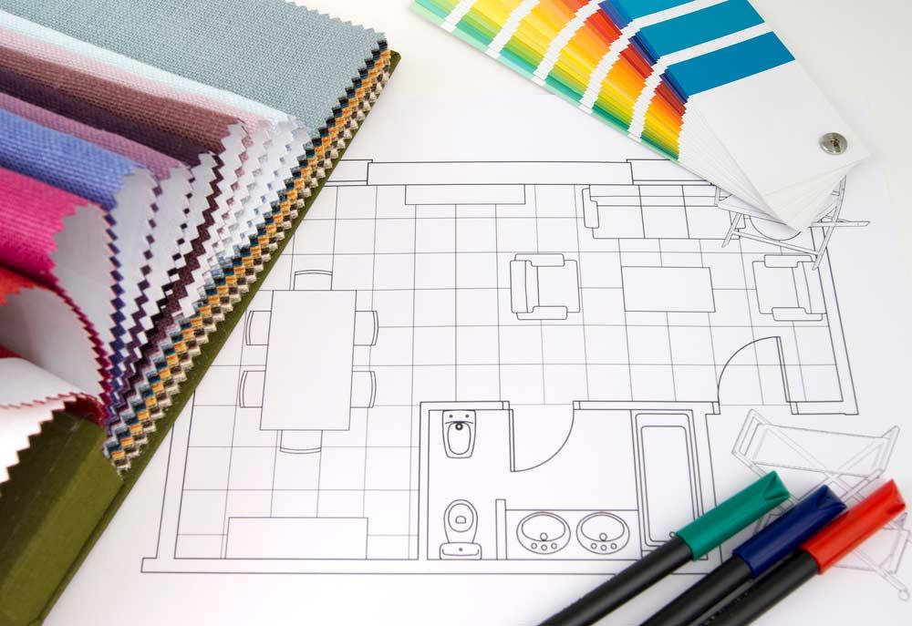 Conceito de design de interiores