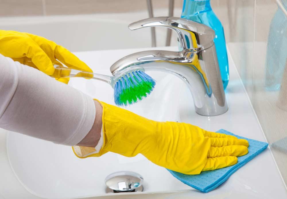 Limpeza de casa: banheiros